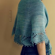 Ravelry: Project Gallery for Palmyre pattern by Nadia Crétin-Léchenne