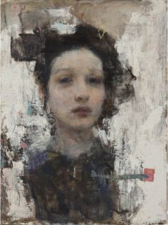 Faces of Eve — Ron Hicks Russian Painting, Russian Art, Figure Painting, Painting & Drawing, Abstract Portrait, Portrait Art, Portraits, Muse Art, Matte Painting