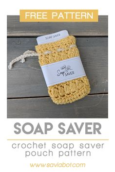 Extend the life of your favorite soap with a cotton crochet soap saver pouch. Crochet Puntada Bobble, Bobble Stitch Crochet, Crochet Scrubbies, Crochet Pouch, Crochet Home, Diy Crochet, Crochet Kitchen, Small Crochet Gifts, Tutorial Crochet