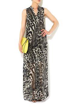 Animal Print Shirt Maxi Dress #WallisFashion