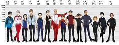 BEPO| Yuri on ice||| important, growth of the characters