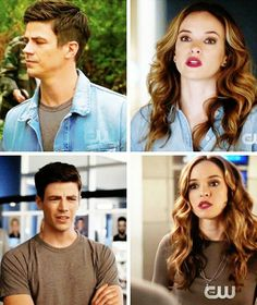 Snowbarry matching clothes #DaniellePanabaker #GrantGustin #TheFlash
