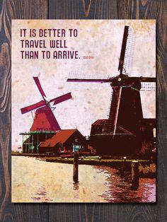 Indeed. #art #print #travel