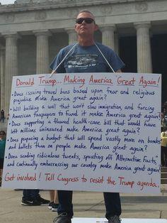 Guy r/esisting by the Lincoln Memorial. : esist
