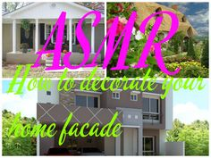 ASMR How to Decorate Your Home Facade http://www.youtube.com/watch?v=YPhH4QhKWmg