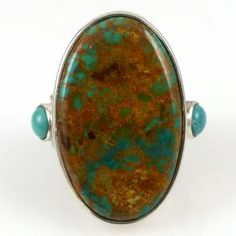 Fox and Royston Turquoise Ring by Noah Pfeffer - Garland's Indian Jewelry. $450