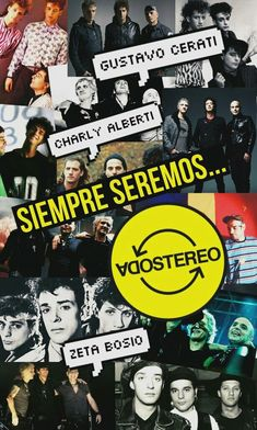 Soda Stereo, Rock Argentino, Photo Wall Collage, Cultura Pop, Pink Floyd, Cute Wallpapers, Rock N Roll, Poster, Life