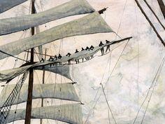 Mast Hangers, by Sam Caldwell