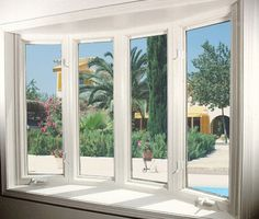 A bay or bow window completely transforms both the interior and the exterior of the home.