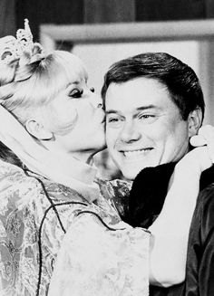 Barbara Eden & Larry Hagman