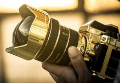 "In November 2014, the couture manufacturer Brikk will release their new ""Lux"" Nikon Df camera and Nikkor 14-24 f/2.8 lens in 24k gold."
