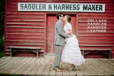 Black Creek Pioneer Village wedding with Rustic Charm