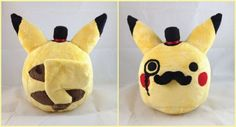 Dapper Pikachu Plush - Neatorama This isn't dress up, I'm just lazy and wanted you to see it. I suppose we could dress up as posh pokemon trainers.