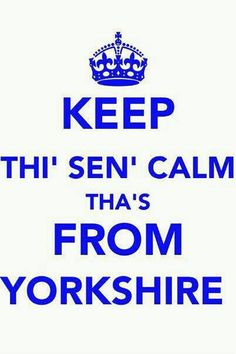 Keep Thi Sen Calm Thas From Yorkshire | Unisex T-Shirt