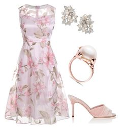 """Без названия #2984"" by claire-hamilton-bristol on Polyvore featuring мода, Nina и Manolo Blahnik"