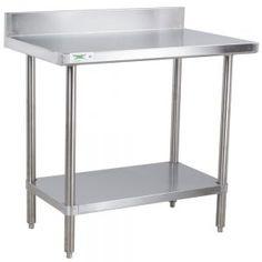 Metal Prep Table Kitchen