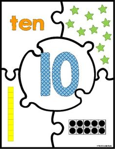 Need an engaging, meaningful activity that your students can work on independently! Check out these number puzzles for 1-20. $