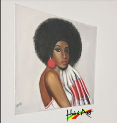 80×80cm Acrylic on canvas By Haimi Messele Canvas, Character, Beauty, Art, Tela, Beleza, Canvases, Cosmetology, Kunst