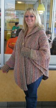 Cuffed Shawl pattern by Shelle Hendrix