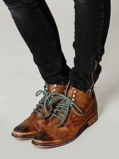 Free People Skyfall Lace Up Boot at Free People Clothing Boutique