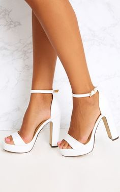 Check out our selection of women's heels and take your style up a level. From club ready clear heels to sky high stilettos, shop cute and sexy heels at PLT. Cute Heels, Sexy Heels, Shoes Heels, High Heel Sneakers, Buy Shoes, Prom Heels, Wedding Heels, Wedge Wedding Shoes, Boho Wedding