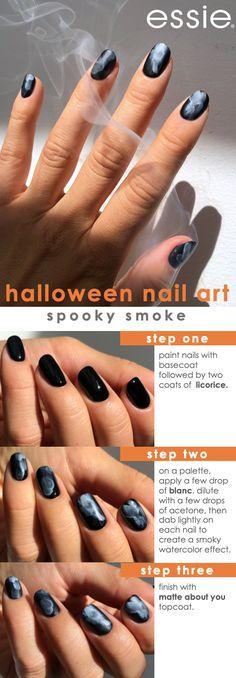 Diy Nails, Cute Nails, Pretty Nails, Neon Nails, Cute Halloween Nails, Halloween Nail Designs, Halloween Nail Colors, Essie, Nail Art Designs