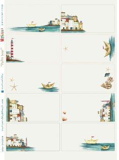 מדבקות נייר / מדבקות נייר מעוצבות/ מדבקות נייר מאוירות/ מדבקות נייר paper boat | Mishka | מרמלדה מרקט