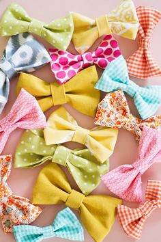 How to Make Super Easy Fabric Bows  (10)