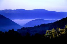 West Virginia mountains!