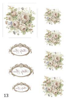 Розы+бирки