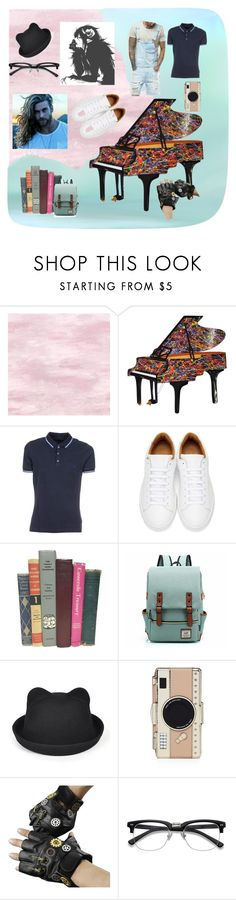 Iruson by maoc1998 on Polyvore featuring FAY, Marc Jacobs, Kate Spade, Roark, men's fashion and menswear