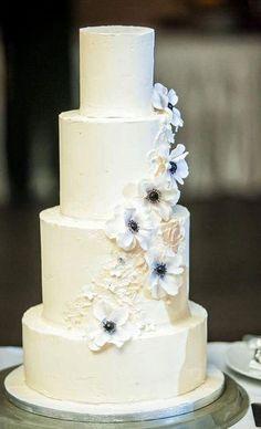 wedding cake by Marangona | buttercream cake with sugarflower | www.marangona.hu