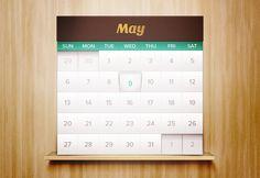 Dribbble - iOs-App-Calendar.jpg by Jeffrey Jorgensen