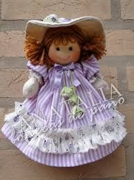 Image result for bonecas de pano