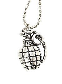 HOTTOPIC.COM - LOVEsick Grenade Necklace