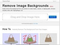 ClippingMagic: Easily Remove backgrounds from images