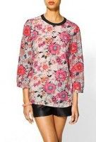 Floral Print Blouse by Tinley Road   Piperlime