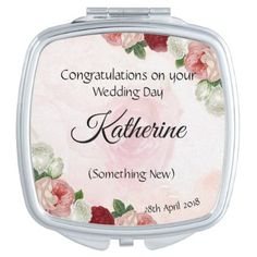 #Personalised Bride mirror Something New - #bride gifts #bridal ideas unique personalize