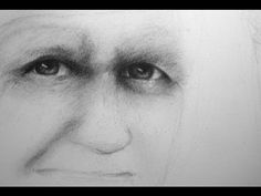 Portrait drawing tutorial Part 1 How to map out the face - Proportions