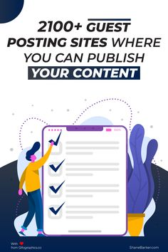 Guest posts are crucial to get quality backlinks in 2019. Here are the best guest posting sites you should check out to grow your audience. #content #website #GuestPosting #contentmarketing #onlinemarketing #marketingdigital #digitalmarketing