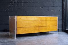 Robert Baron / Glenn of California Dresser | From a unique collection of antique and modern dressers at https://www.1stdibs.com/furniture/storage-case-pieces/dressers/