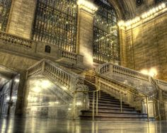 grand central station-I had to pass through GCS each morning to go to work on Park Avenue-Debbie Logan Gold