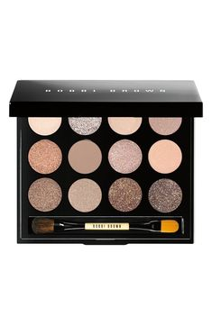 Love the shimmering shades included in this Bobbi Brown eye palette!
