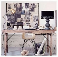 home office inspiration Workspace Inspiration, Interior Inspiration, Interior Ideas, Blog Inspiration, Interior Styling, Interior Decorating, Decorating Ideas, Decor Ideas, Home Interior