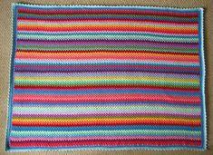 Granny Stripes haken - goede uitleg