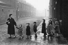 'Teachers' TEACHERS'Una de las instantáneas de Bert Hardy del año 1956 (Bert Hardy - © Getty Images - Courtesy of Sheila Hardy)