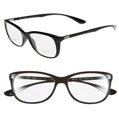 fca52b3225e  ray  bans Womens Ray-Ban 54mm Optical Glasses ( 175) ❤ liked