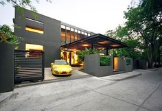 contemporary 3 story office buildings with wood - Google Search