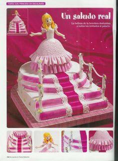 princess 3d cake