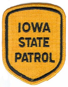 iowastate police patches | Iowa State Patrol Current Patch